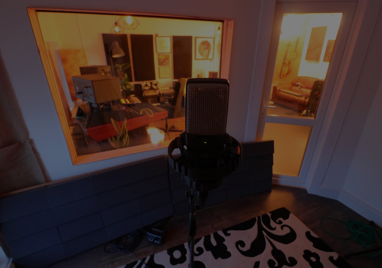 Large Vocal Booth